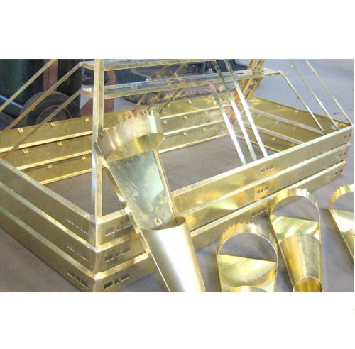 Brass & Steel Frame 2